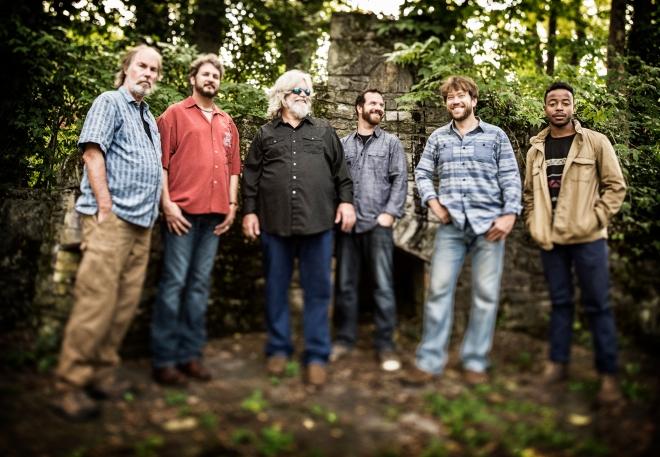 Leftover Salmon photographed in Nashville, TN September 16, 2014©Jay Blakesberg